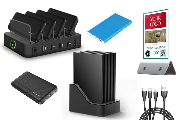 image of ChargerPoints mobile charging range of products